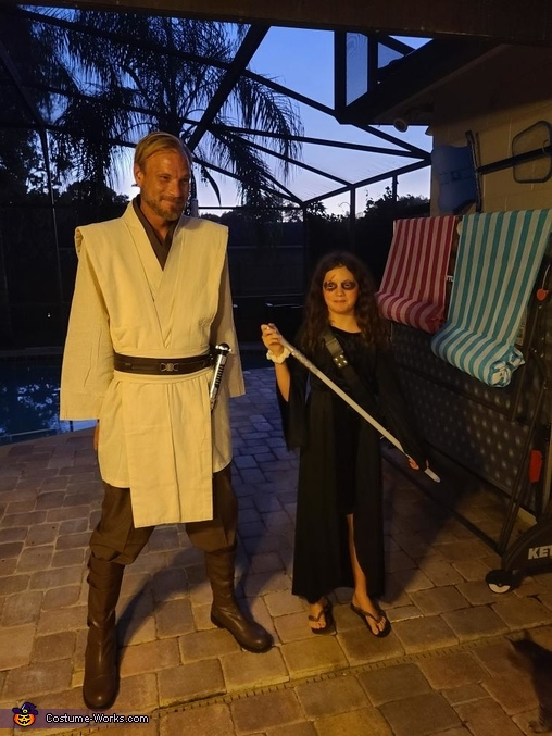 The Force Homemade Costume