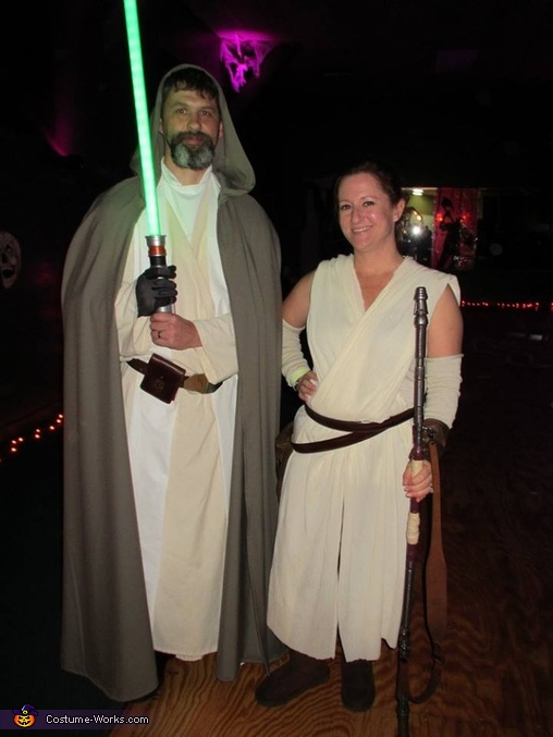 Rey & Luke Skywalker, The Force Awakens Costume