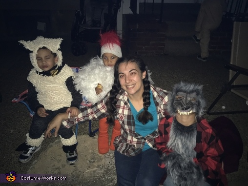 The Funny Farm and a Wolf Costume