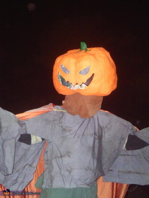 The Geat Pumpkin Homemade Costume