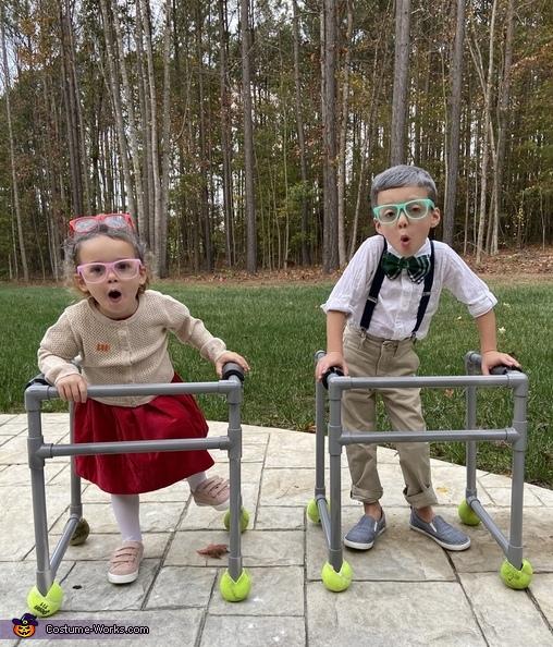 The Geriatric Couple Costume