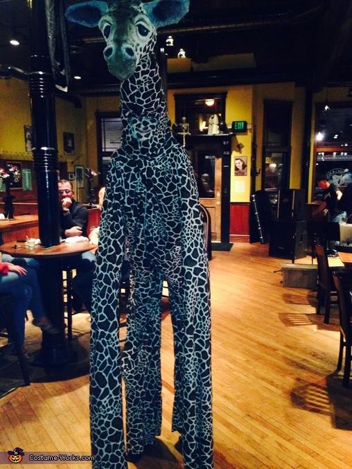 Front of giraffe, The Giraffe Costume