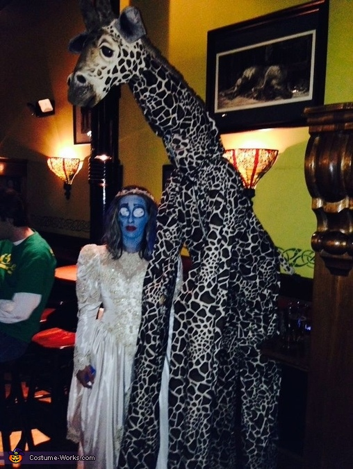 Pic with corps bride, The Giraffe Costume