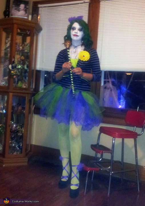& The Girl Joker Costume