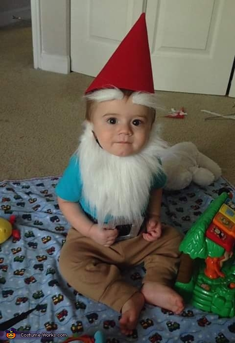 The Gnome Baby Costume