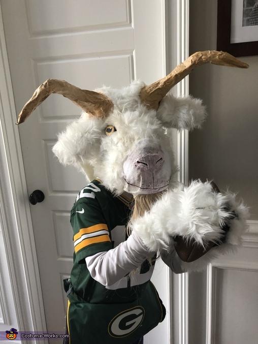 The GOAT Homemade Costume