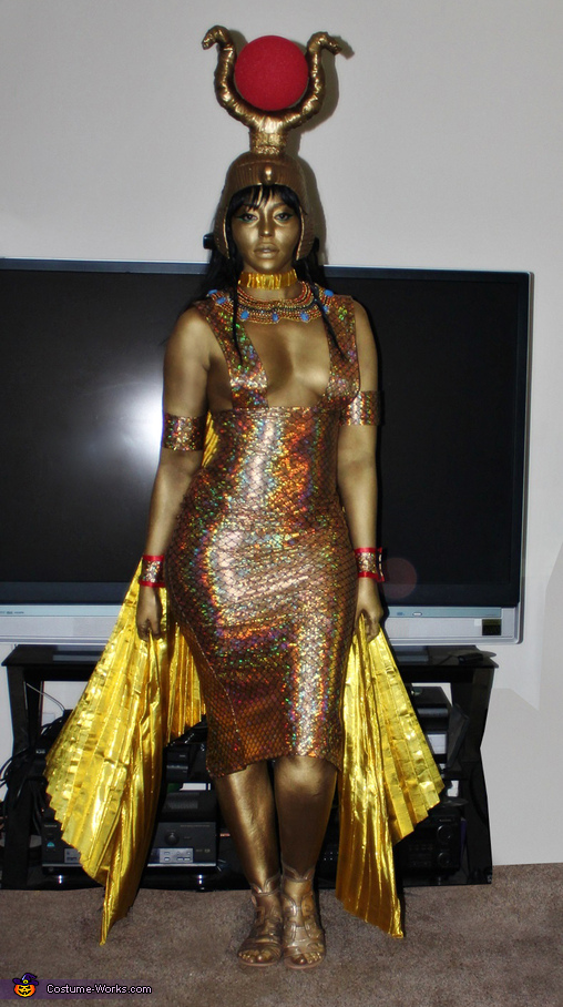 The Goddess Isis Homemade Costume