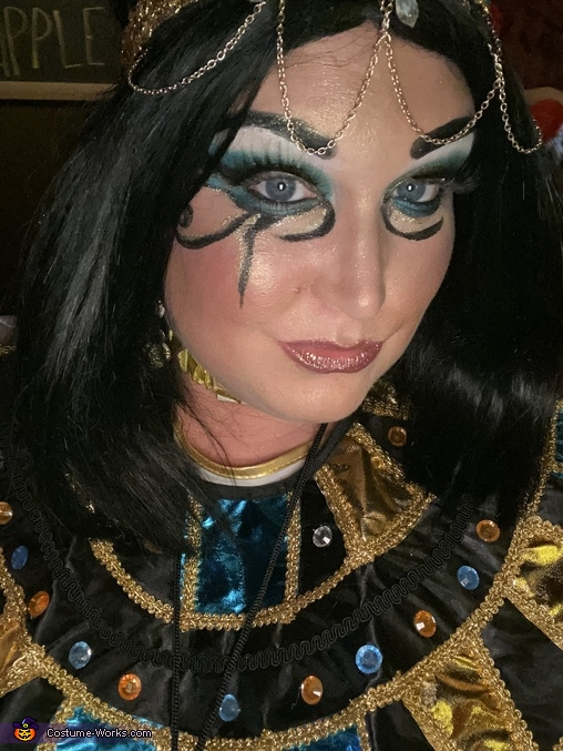 I did my own makeup, The Gods of Egypt Costume