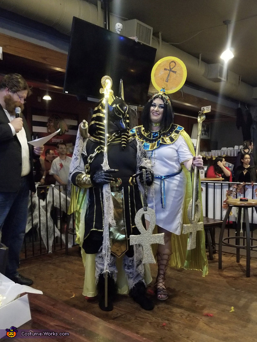 Couple costume finished look, The Gods of Egypt Costume