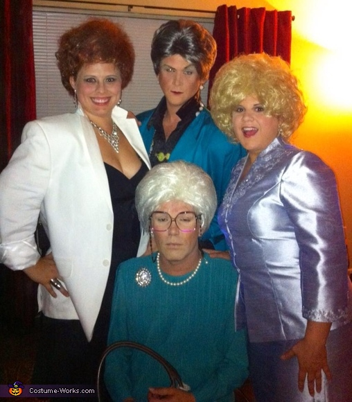 The Golden Girls Group Costume