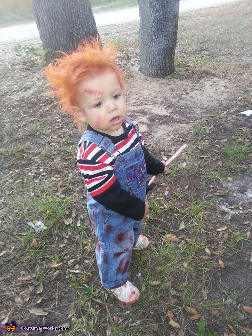 im chukie you wanna play, The Good Guy Chuckie Costume
