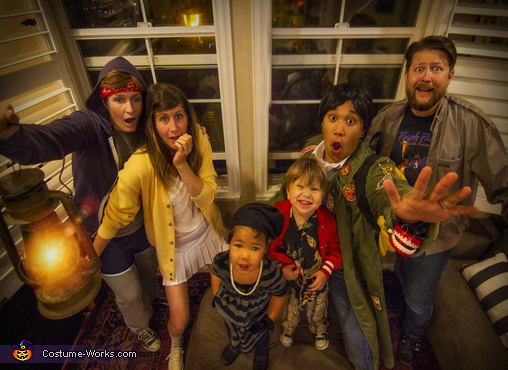 The Goonies Family Costume
