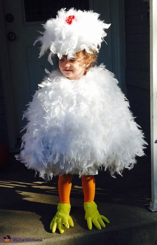 The Grand Champion Chicken Baby Costume