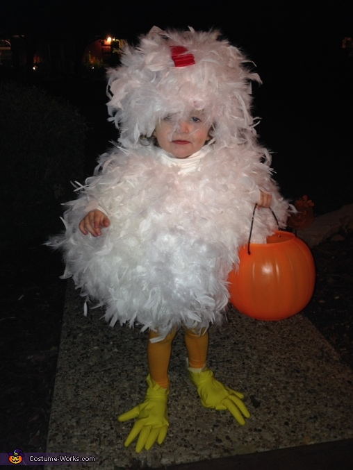 This Chicken is AT WORK, The Grand Champion Chicken Baby Costume
