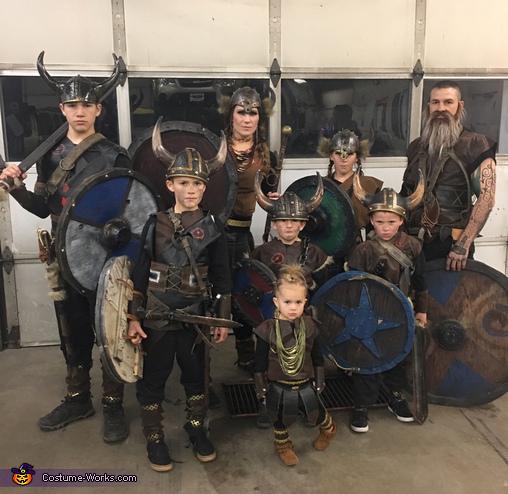 The Grant Viking Family Costume