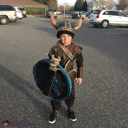Dynamite, The Grant Viking Family Costume