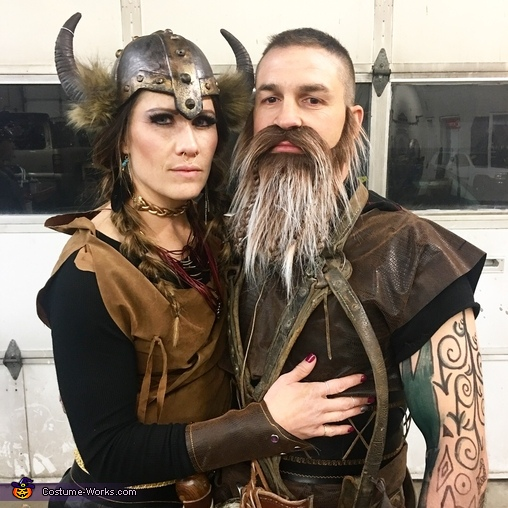 United front, The Grant Viking Family Costume