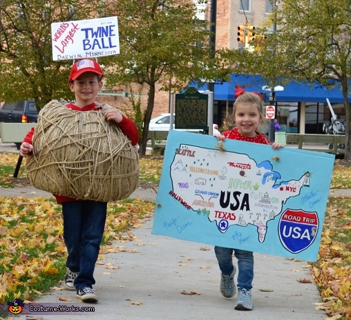 The Great American Road Trip Costume