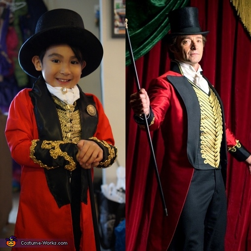 Side by Side with Hugh Jackman, The Greatest ShowFAM Costume