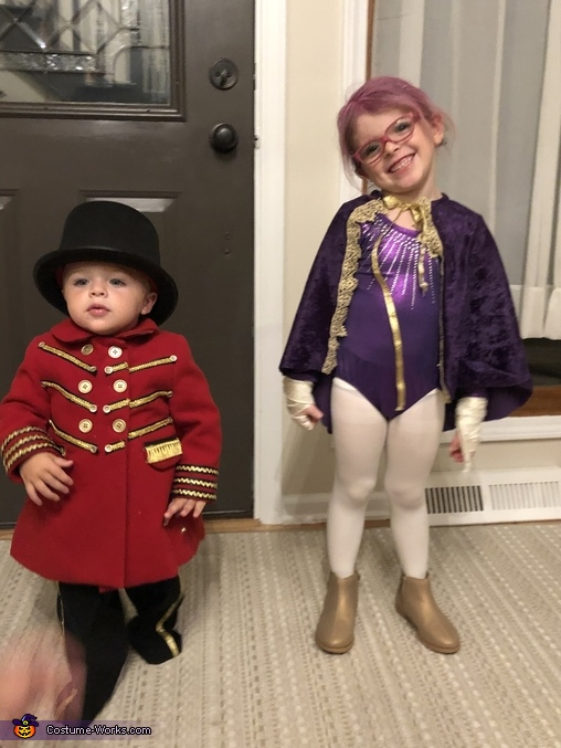 The Greatest Showman Ringmaster Homemade Costume