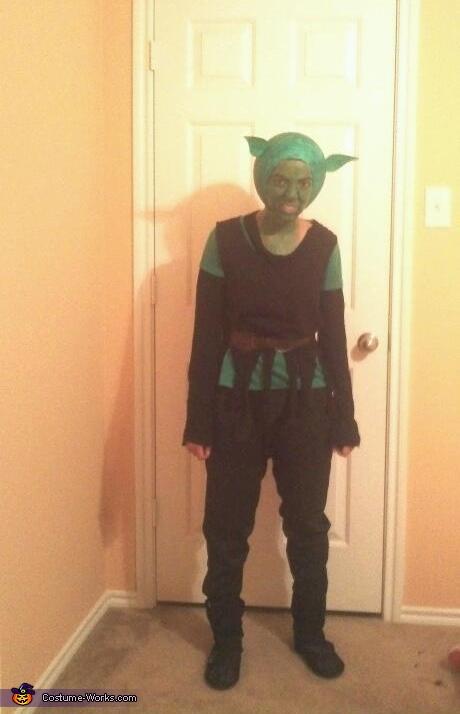 The Green Gobling Costume