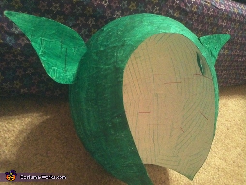 The Green Gobling Homemade Costume