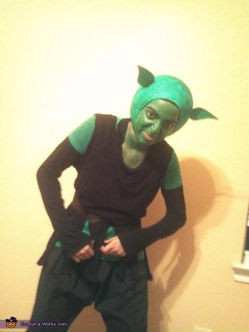 The Green Gobling Homemade Costume