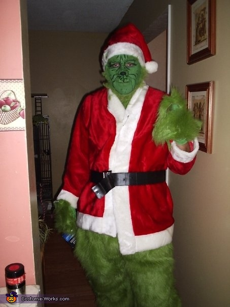 The Grinch - Homemade costumes for men