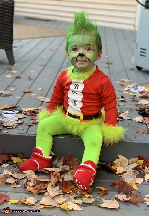 The Grinch Baby Costume