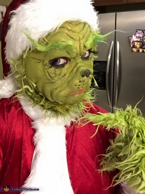 The Grinch Costume DIY