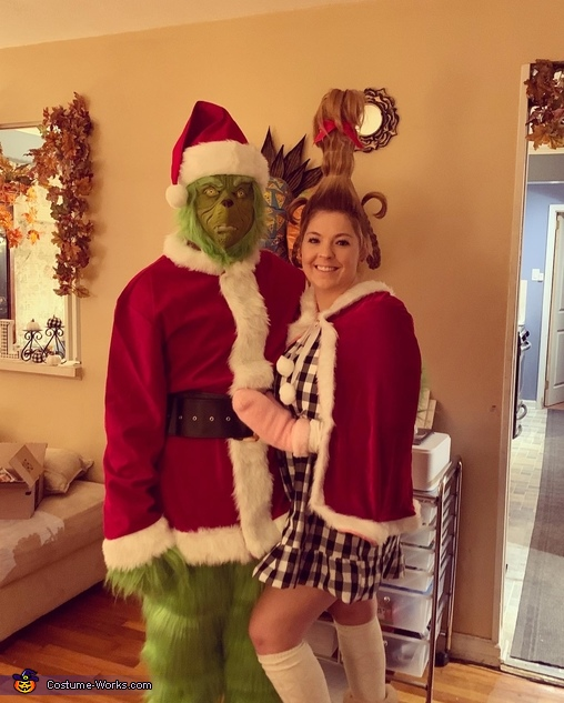 The Grinch and Cindy Lou Costume
