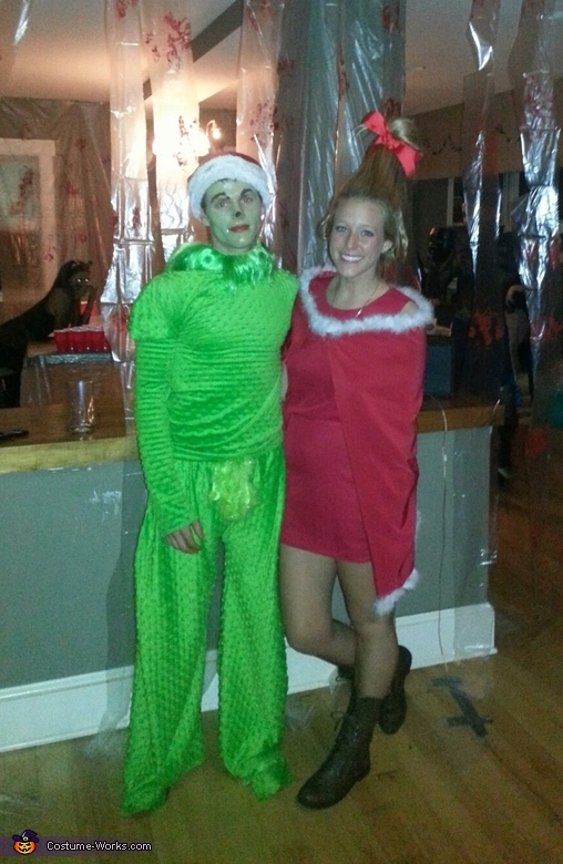 Cindy Lou Who and The Grinch, The Grinch and Cindy Lou Who Costume