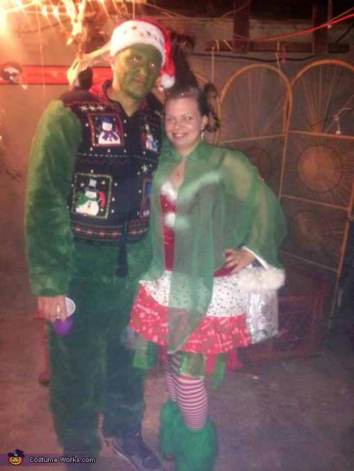 The Grinch and Cindy Lou Who Couples Costume