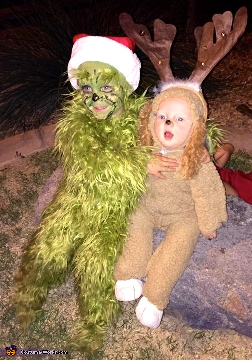 the Grinch and his dog Max, The Grinch and his Dog Max Costume