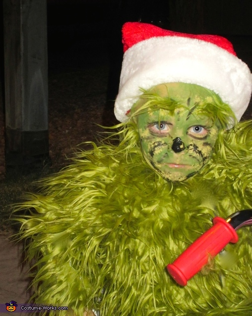 the Grinch, The Grinch and his Dog Max Costume