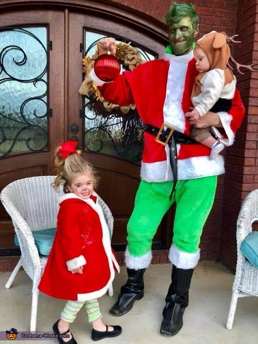 The Grinch, Cindy Lou Who and Max Costume