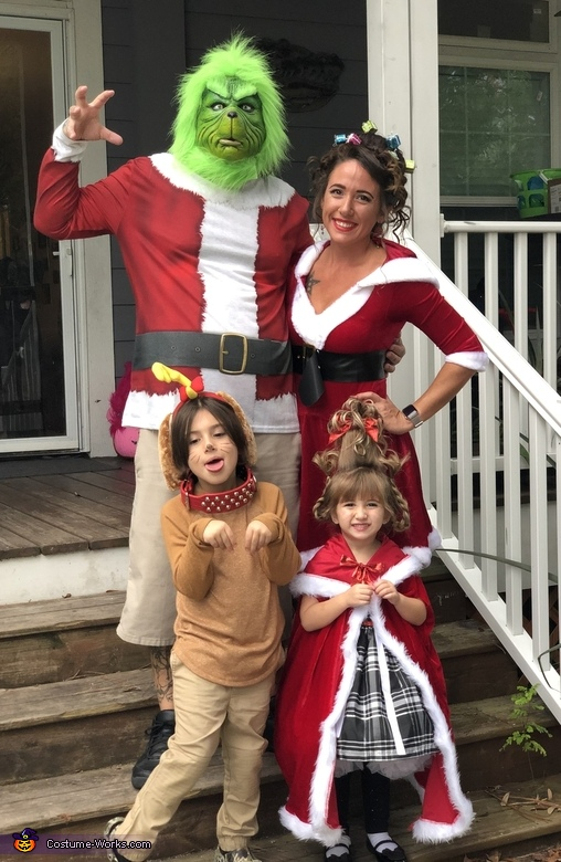 The Grinch Family Costume