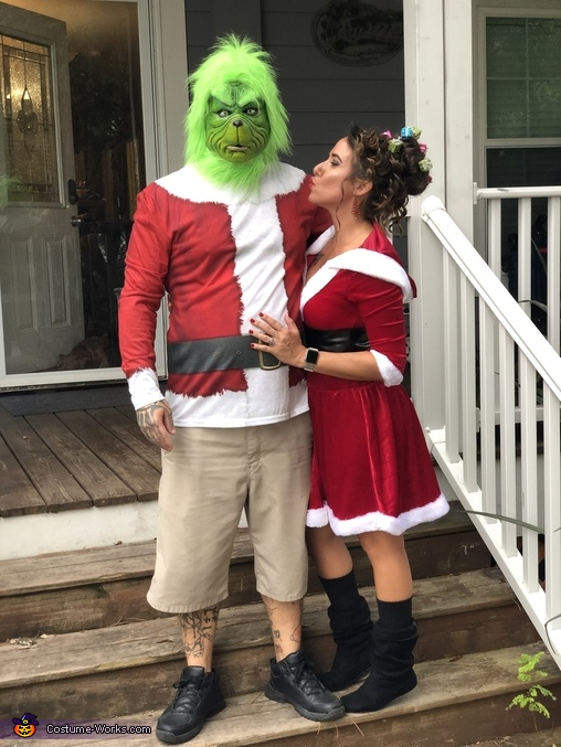 The Grinch Family Homemade Costume