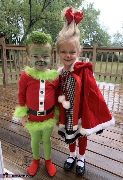 The Grinch & Cindy Lou Costume