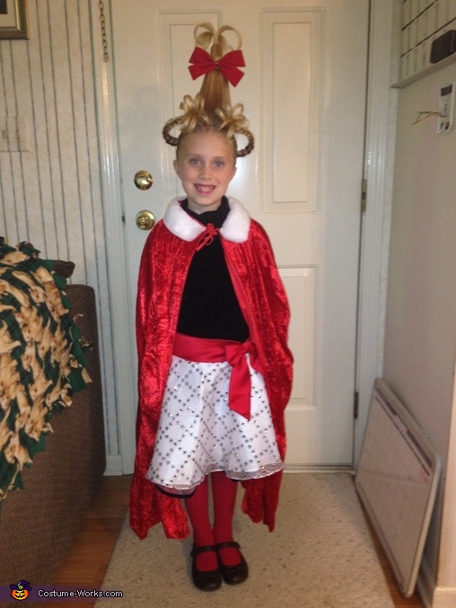 The Grinch that Stole Christmas Homemade Costume