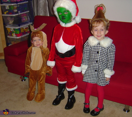 The Grinch Who Stole Christmas - Homemade costumes for kids