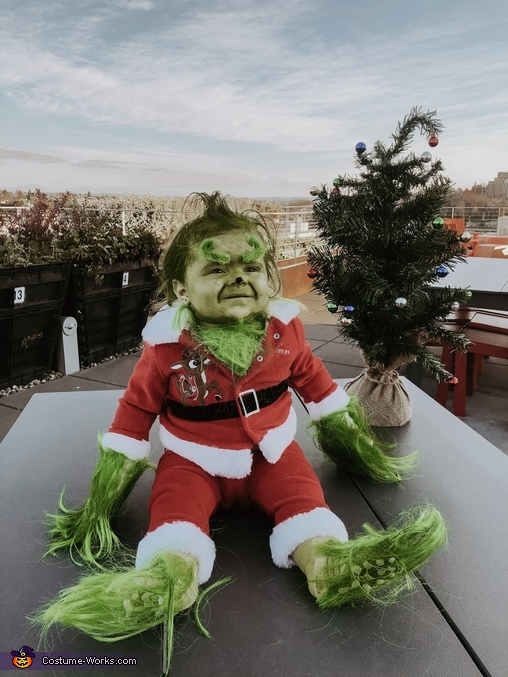 BABY GRINCH, The Grinch - Whoville Costume
