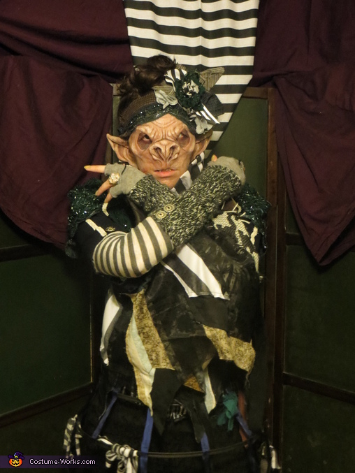 The Grotesque Bat Woman Costume