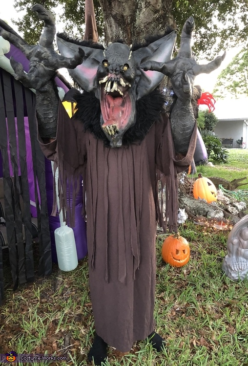 The Gruesome Bat Costume
