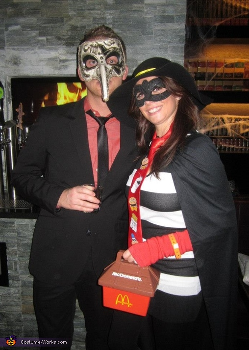 The Hamburglar Costume