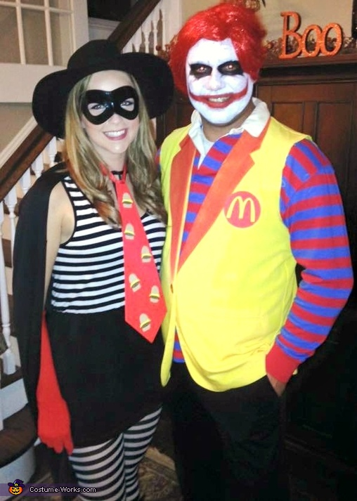 "The Hamburglar and ""Ronnie"" McDonald Costume"