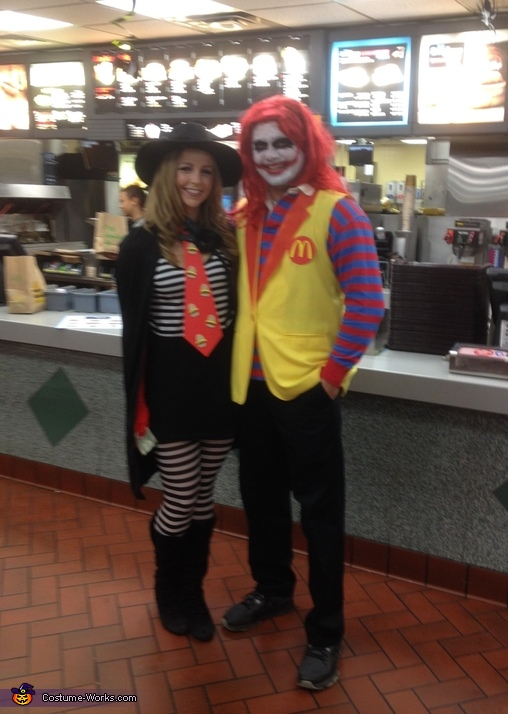 "Hamburglin', The Hamburglar and ""Ronnie"" McDonald Costume"