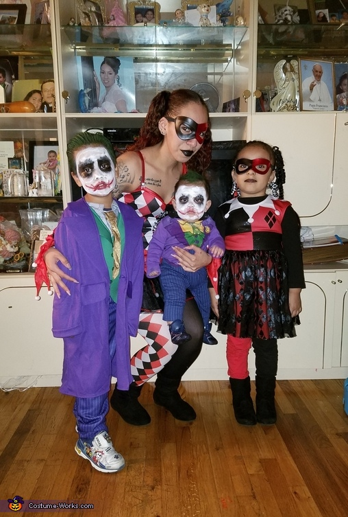The Harley Quinns and The Jokers Costume