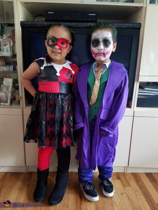 HARLEY QUINN AND THE JOKER, The Harley Quinns and The Jokers Costume