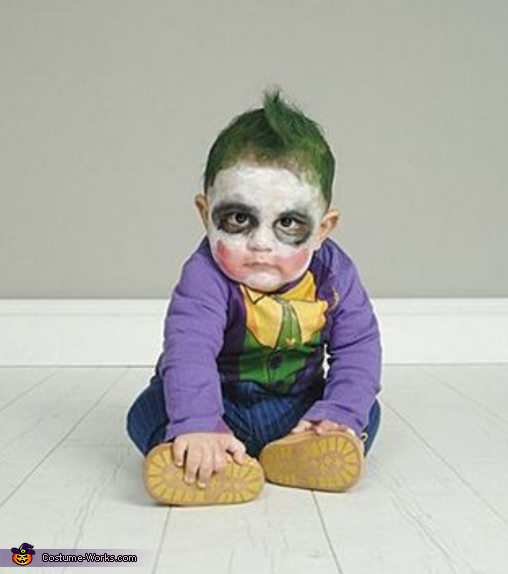 Baby Joker, The Harley Quinns and The Jokers Costume